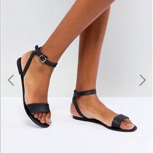 NWOT ASOS Jelly Flat Sandal
